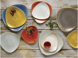Цветная посуда