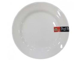 PD004 Тарелка круглая из фарфора №12  30,48 см (тарелки круглые штучные фарфоровые белые)