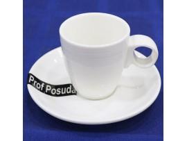 PD1870 Чашка с блюдцем из фарфора