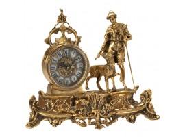 Гв-5352 Настольные часы 27*35см  бронза SHEEPARD Virtus