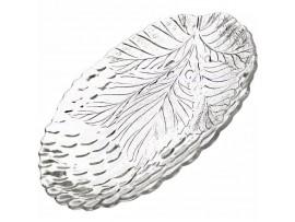 10292-Р  Тарелка овальная закал. СУЛТАНА разм: 188мм из 2шт Pasabahce (тарелки круглые штучные стеклянные)
