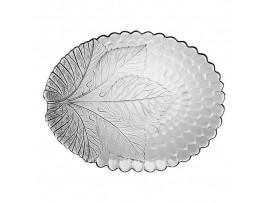 10293-Р  Тарелка овальная закал. СУЛТАНА разм: 250х320мм Pasabahce (тарелки круглые штучные стеклянные)